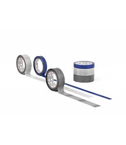 Washi tape set - Blauw