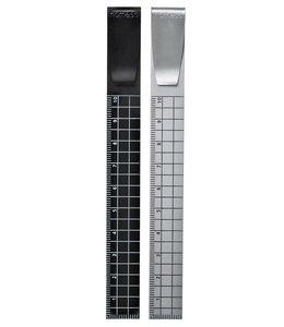 2 Aluminium Bookmarks