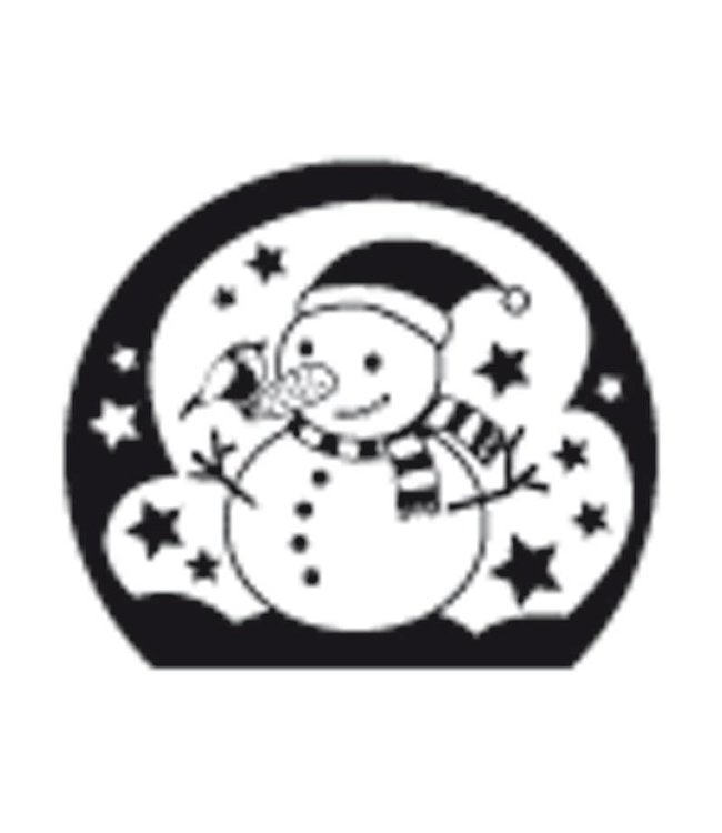 Rico Design Stempel sneeuwman