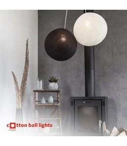 Cotton Ball Lights Katoenen lamp - 36 cm
