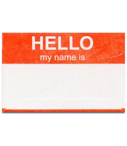 Dynomighty Mighty Cards - Hello my name is