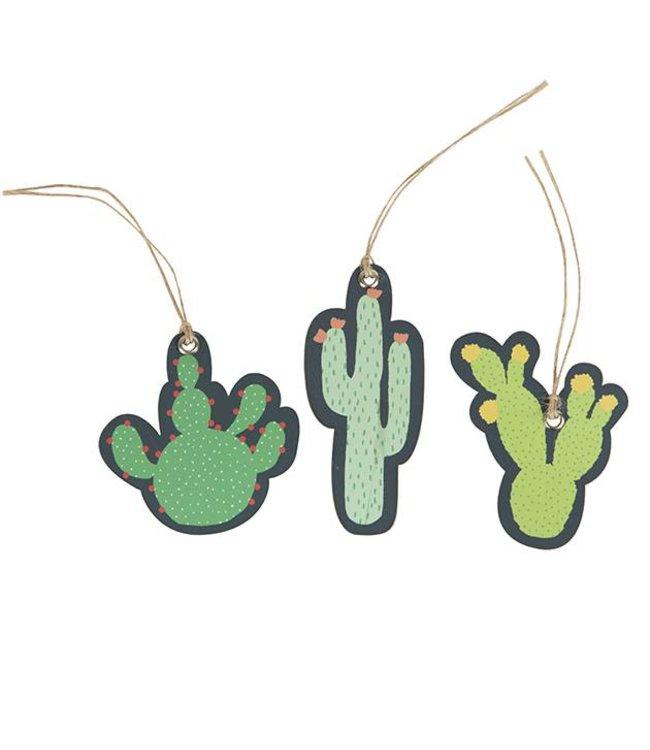 Dotcomgiftshop 12 Tags - Cactus
