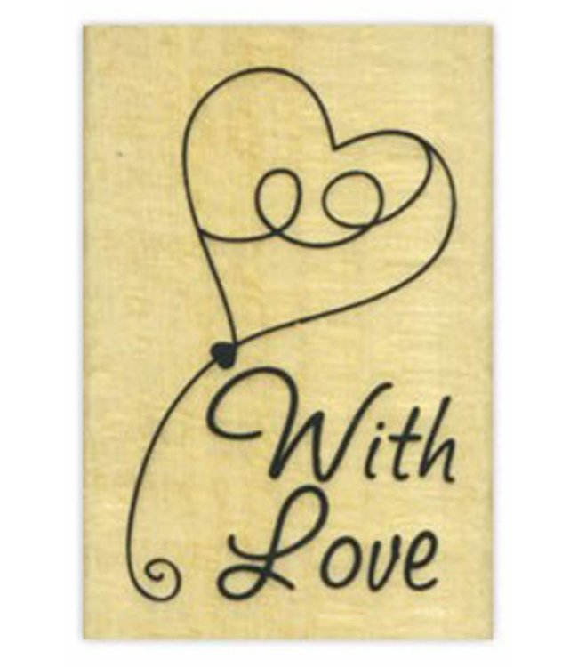 StudioZomooi stempel With love