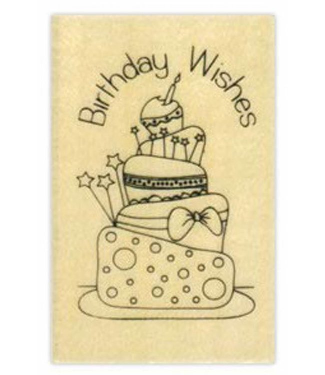 StudioZomooi stempel birthday wishes