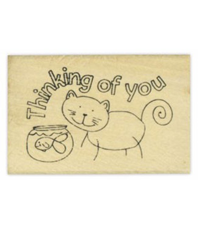 StudioZomooi stempel thinking of you