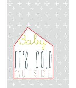 Bl-ij Postkaart - cold