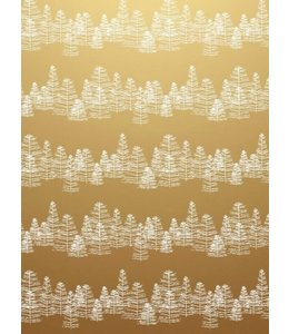 Jurianne Matter Cadeaupapier - Pine on Gold