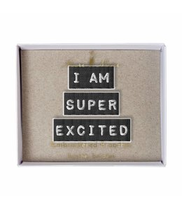 Meri Meri 3 Broches - I Am Super Excited