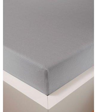 Weseta Switzerland bellana® de Luxe Spannbetttuch/Fixleintuch Jersey mit Elastan, samtweich silber