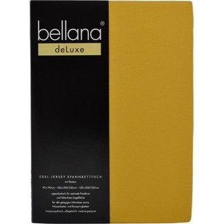 bellana® de Luxe Spannbetttuch/Fixleintuch Jersey mit Elastan, samtweich pflaume