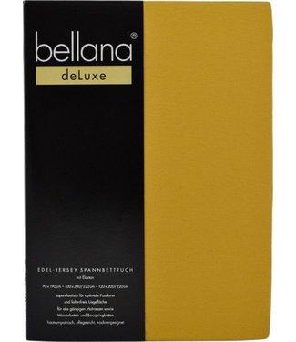 Weseta Switzerland bellana® de Luxe Spannbetttuch/Fixleintuch Jersey mit Elastan, samtweich pflaume
