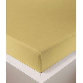 bellana® de Luxe Spannbetttuch/Fixleintuch Jersey mit Elastan, samtweich weizen