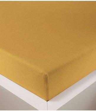 Weseta Switzerland bellana® de Luxe Spannbetttuch/Fixleintuch Jersey mit Elastan, samtweich gold