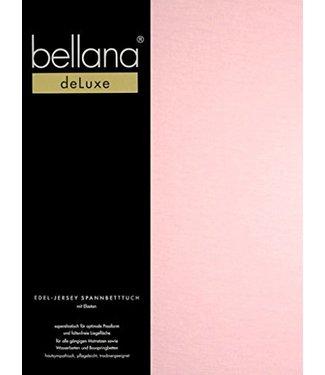 Weseta Switzerland bellana® de Luxe Spannbetttuch/Fixleintuch Jersey mit Elastan, samtweich rosé