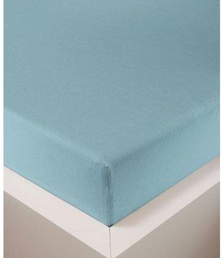 Weseta Switzerland bellana® de Luxe Spannbetttuch/Fixleintuch Jersey mit Elastan, samtweich azur