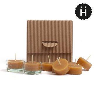 HONGLER KERZEN HONGLER Teelichter aus 100% reinem Bienenwachs