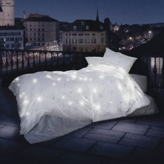 SCHLOSSBERG Schlossberg Bettwäsche CELESTE mit LED