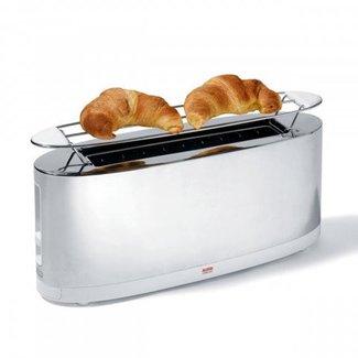 ALESSI Toaster mit Brötchenaufsatz SG68