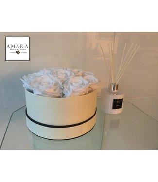 AMARA Flowerbox Beige Grösse M