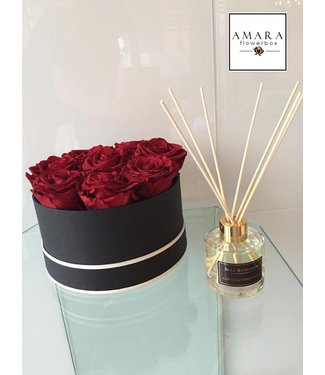 AMARA Flowerbox Schwarz  Grösse M