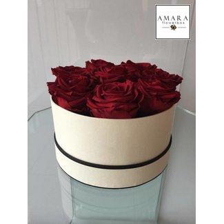 AMARA Flowerbox Weiss  Grösse M