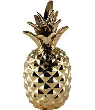 KAHEKU Kaheku  Figur Piniti Ananas Gold