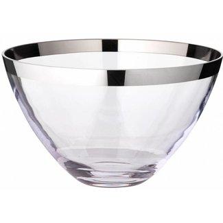 EDZARD Schale Holly, Kristallglas mit Platinrand in 3 Grössen