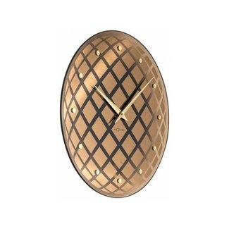 NEXTIME NeXtime Wanduhr Pendula Round Kupfer  43 cm