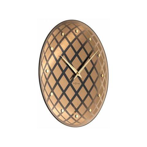 NeXtime Wanduhr Pendula Round Kupfer  43 cm