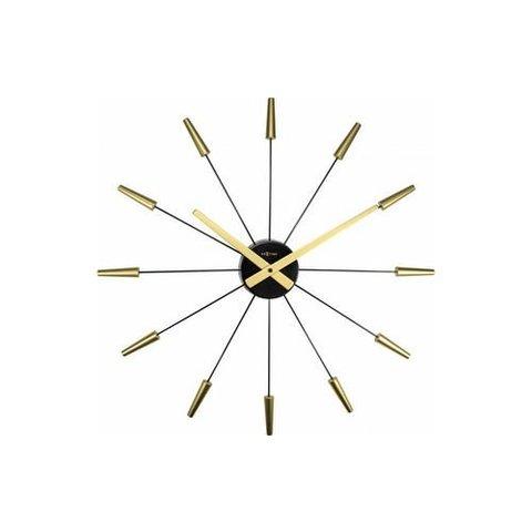 Wanduhr Plug Inn Gold 58 cm