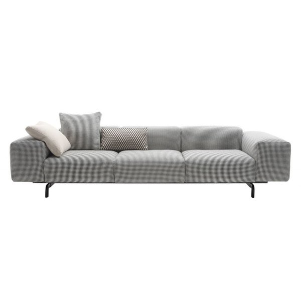 KARTELL KARTELL 3-Sitzer Sofa Largo fire tested