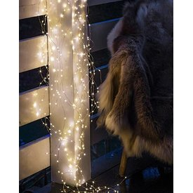 SIRIUS  Sirius LED Lichterkette Angel Hair Knirke 350 LED 2.7 m Transparent