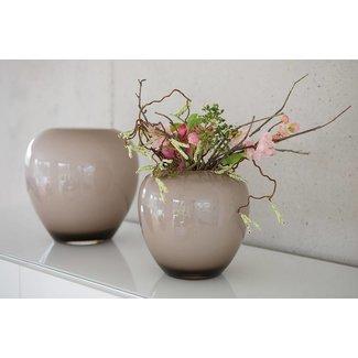 FINK-LIVING Fink LOSONE / Vase, opal greige