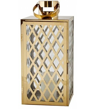 Villa Collection Laterne 36 cm Gold