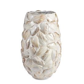 ADIEM Blumentopf Übertopf Vase Platinum  Perlmutt