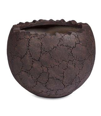 Adiem Exklusive Pflanzentöpf Vase Bowl Steinstruktur