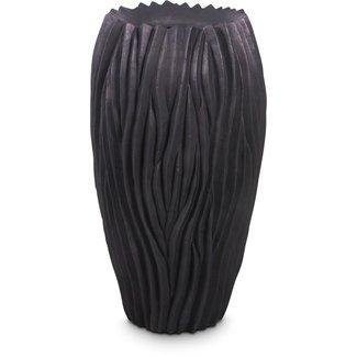 FLEUR-AMI RIVER Pflanzgefäß, 38/70 cm, schwarz