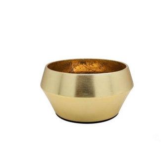 DOMEDECO  Dôme DecoTeelichthalter gold