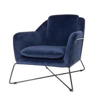 DOMEDECO  Dôme Deco GIN Lounge Sessel blau