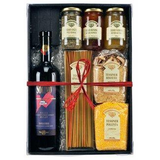 Imex Delikatessen Geschenkkorb Geschenkset Tessin
