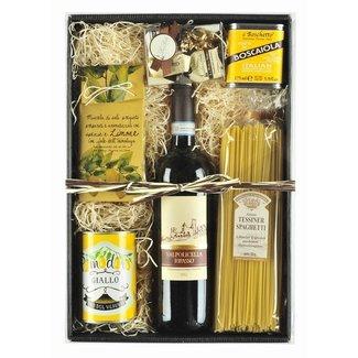 Imex Delikatessen Geschenkset | Geschenkkorb Boscaiola