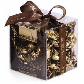 La Perla di Torino   Schokoladen aus Italien La Perla di Torino Tartufo Kaffeebohnen mit Schokoladeüberzug