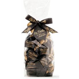 La Perla di Torino   Schokoladen aus Italien La Perla di Torino Trüffel Puro Nero Piemont-Haselnüsse