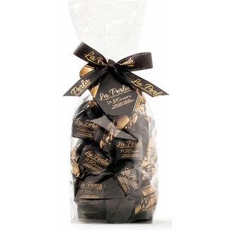 La Perla di Torino | Schokoladen aus Italien La Perla di Torino Trüffel Puro Nero Piemont-Haselnüsse