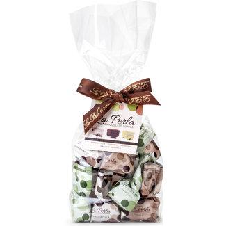 La Perla di Torino | Schokoladen aus Italien La Perla di Torino Mini-Trüffel Pistazie-Stracciatella