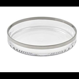 EDZARD Edzard Platinum Glasschale Light Ø 25 cm