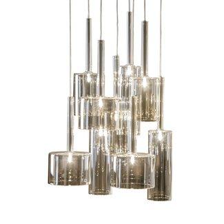 DOMEDECO  Hängelampe aus Glas | 9 Lampen