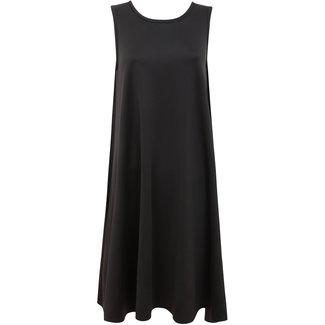 Weit geschnittenen Kleid, schwarz
