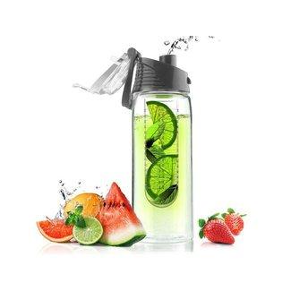 Zone Denmark  asobu Trinkflasche Pure Flavour 2 go Dunkelgrau