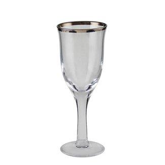 Kaheku Weissweinglas  Skagen mit Platinrand 6-er Set